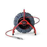 Ridgid 48488 Mini-SeeSnake Plus Color Self-Leveling  Camera with 200 Ft. Reel - Click here for product information page