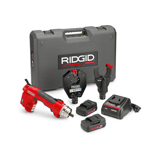 RIDGID 52098 RE 6 Electrical Tool Kit with SC-60C Scissor Cutter and 4P-6 4PIN Dieless Crimp Head