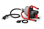 RIDGID 78347 K-40B AF Battery Power Sink Machine, Autofeed, Guide Hose, C-13IC SB Cable, Inner Drum