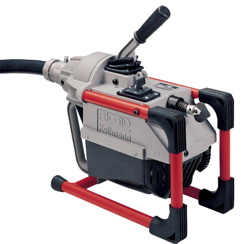 RIDGID 66497 K-60SP-SE Sectional Drain Cleaning Machine w/A-1 Mitt, A-12, A-60-12, A-61 and A-62