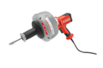 RIDGID 36018 K-45 Drain Cleaning Machine with 5/16 in. x 25 ft. C-1IC Cable and Inner Drum