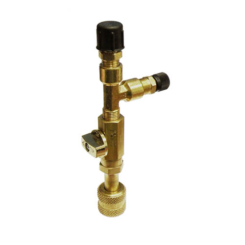 Robinair 13047A High Vacuum Valve Assembly Use with Thermistor Gauge 1/2 in FFL Coupler
