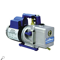 Robinair 15601 High Performance 6 CFM Vacuum Pump, 1/3 hp, 13.5 oz. Oil Cap., 115V/220V 50/60 Hz
