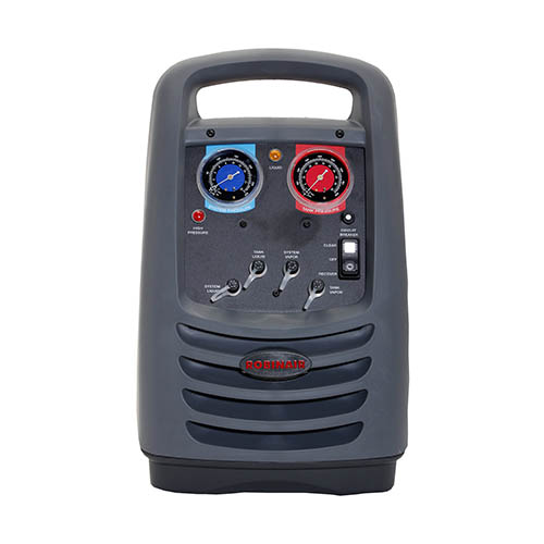 Robinair 25200B Oil-less Refrigerant Recovery Unit, 110 50/60 Hz, Auto High Pressure Cut-out Switch