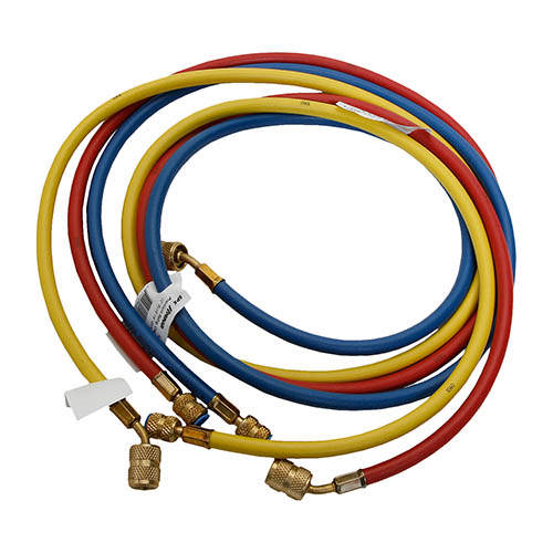 Robinair 39072A 1/4 in FFL Standard Hoses with Quick Seal Fittings, Set of three