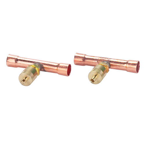Robinair 40105 Brass Tee 0.25 in MFL for 0.37 in Pack of 2