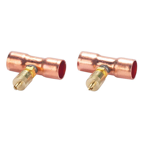 Robinair 40110 Brass Tee 0.25 in MFL for 0.62 in Pack of 2