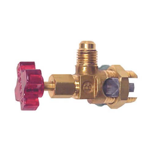 Robinair 40288 Tube Piercing Valves with Flow Control and 1/4 S.A.E. Connector Size
