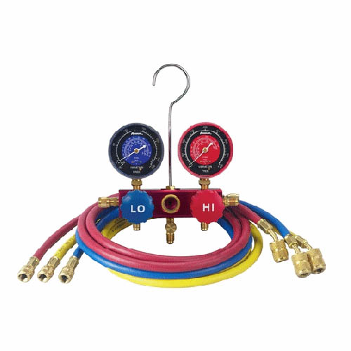 Robinair 41146 R410A Manifold Hose Set, 60 in Enviroguard Hoses, With Quick Seal Fitting