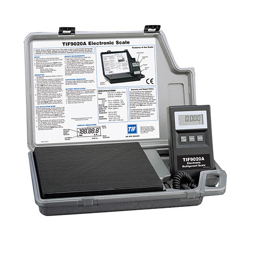 Robinair TIF9020A Slimline Refrigerant Electronic Charging Scale