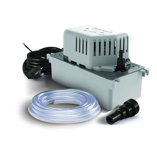 Sauermann SI-1801/T-230V Centrifugal Condensate Removal Tank Pump with 20' Tubing, 17' Head, 230V