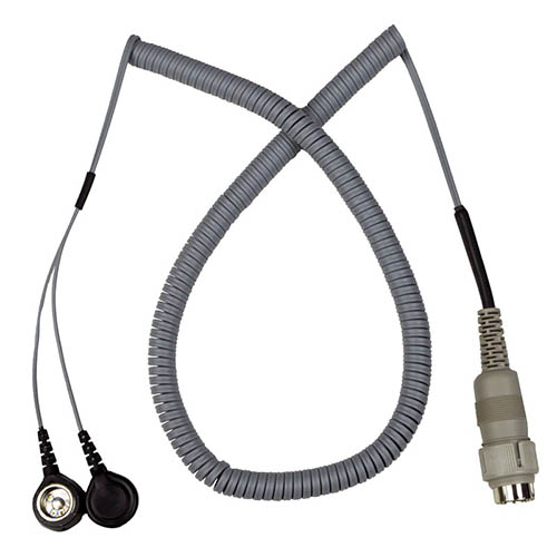 SCS 741DC Dual Conductor 10 ft. Cord with Dual 10mm Snap