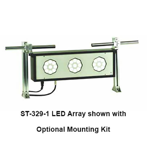 "Shimpo ST3296 LED Strobe Array, 47"" (1200 mm), 81 LED's in 9 groups, 120 VAC (small array)"