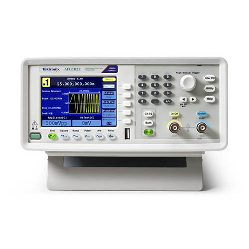 Function Generator And Oscilloscope : Tektronix afg mhz dual channel ms s