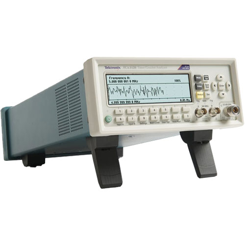 Tektronix FCA3000 300 MHz, 2-Ch, 100 ps, Standard Timebase Frequency Counter/Analyzer
