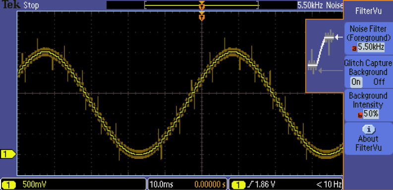 Tektronix MSO2014B 100 MHz, 4+16-Channel, 1 GS/s Mixed Signal