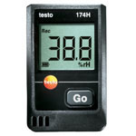 Click for larger image of the Testo 174HKIT Mini Temperature and Humidity Data Logger Kit