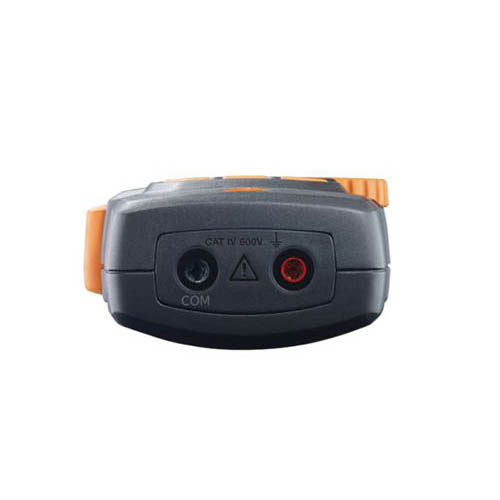Testo 770-3 (0590 7703) TRMS 600A Clamp Digital Multimeter w/ Inrush, Power Measurement, Bluetooth (Bottom View)
