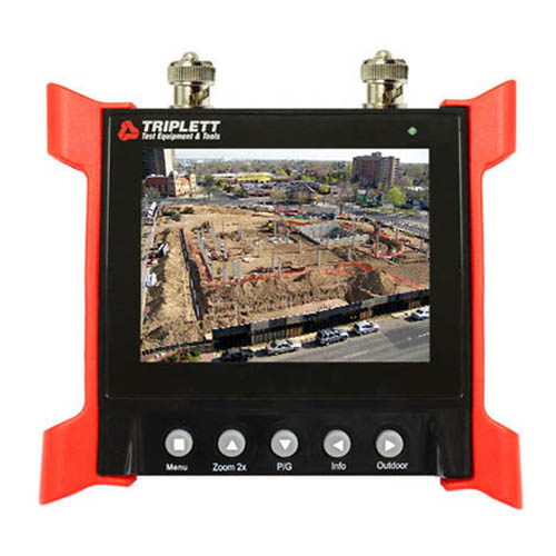 Triplett 8060 CamView Elite Ruggedized Video Test Monitor with 3.5 in. LCD Screen, Wrist Mounted