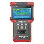 Click for larger image of the Triplett 8071 CamView IP Pro+ Rugged IP & Analog NTSC/PAL, AHD, HD-TVI Camera Tester w/ DHCP Server