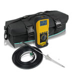Click for larger imageof the UEi C85 EOS Long Life Combustion Analyzer with CO Sensor and EOS Technology