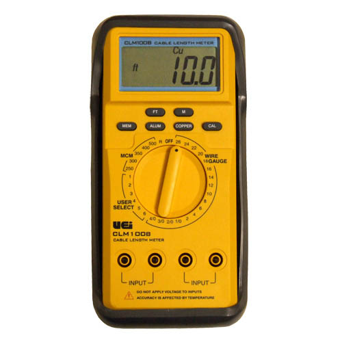 Electrical Wire Gauge Measuring Tool Digital Manifold: UEi Test And Measurement Instruments CLM100B Cable Length