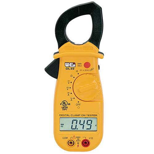 Electrical Clamp Meter : Uei test and measurement instruments dl electrical