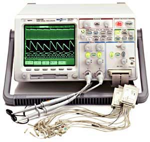Agilent 54622D 2 16 Channel 100 MHz Mixed Signal Oscilloscope Refurbished