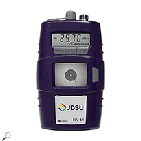 JDSU HP3-60 Handheld display with integrated power meter.  Fiber inspection and test system Discontinued