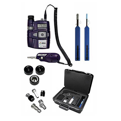 Viavi FIT-S105-C Fiber Inspection and Test System Kit. HP3-60P4, FBP-P5 and Cleaning Materials