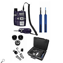 JDSU FIT-S115-C Fiber Inspection & Test System Kit, 200/400x Probe w/HP3-80-P4 & Cleaning Materials