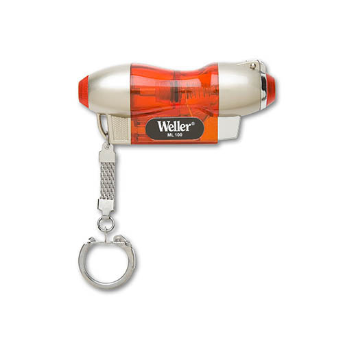 Weller ML100 Magna-Lite Cordless Butane Micro Torch 2400°F with Key Ring. Butane Not Included