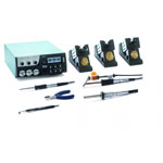 Click for larger image of the Weller WXR3001 Rework Station Set with WXHAP200, WXDP120, WXP65