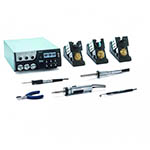 Click for larger image of the Weller WXR3003 Rework Station Set with WXHAP200, WXDV120, WXP65