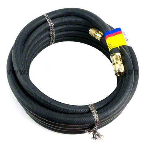 "Click here for larger image of the Heavy Duty Charging/Vacuum Hose, 50', C 1/2"" X 1/2"""