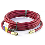 Click here for larger image of the Yellow Jacket 28125 25' Red Charging Hose, Plus II B