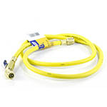 "Click here for larger image of the Yellow Jacket 29005 R410A Ball Valve 60"" Jp Yellow Hose"