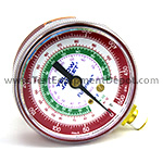 Yellow Jacket 49001 2 1/2 in Gauge ( °F), Red Pressure, 0-500 Psi, R-12/22/502