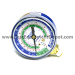 Yellow Jacket 49002 2 1/2 in Gauge (°F), Blue Compound, 30-0-120** Psi, R-12/22/502