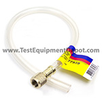 Yellow Jacket 77939 Optional 3/8 in Flexible Drain Hose, 24 in Long Fitting One End Only
