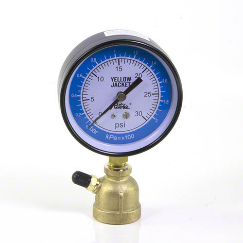 Electronic Gas Gauge : Yellow jacket quot test unit pipe