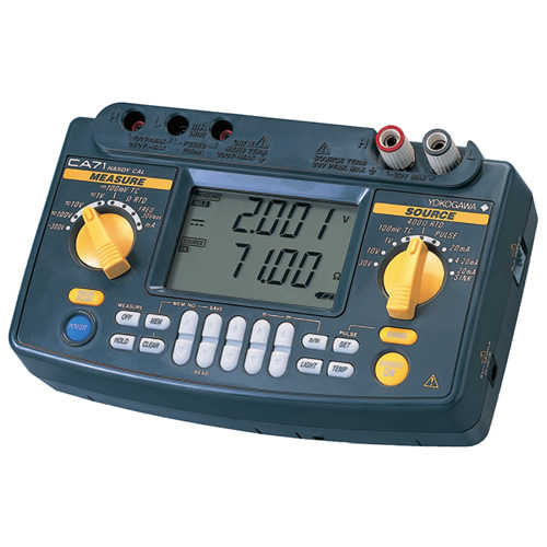 Click for larger image of the Yokogawa CA71 Multifunction Calibrator Plus TC and RTD and Communications