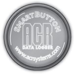 ACR Systems ACRSB SmartButton Single channel, 8-bit, 2 KB data logger. (Catalog# 01-0180) - Click here for product information page