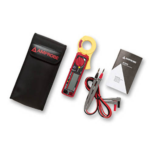 Amprobe AC50A 400V/60A AC Leakage Clamp Meter with Resistance and Continuity Beeper (With Accessories)