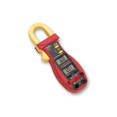 Amprobe ACD-14 TRMS-PLUS 600V/600A TRMS AC Autoranging Clamp Meter w/ Dual Display & Type-K Probe (Front)