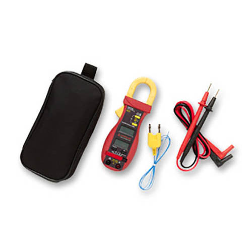 Amprobe ACD-14 TRMS-PLUS 600V/600A TRMS AC Autoranging Clamp Meter w/ Dual Display & Type-K Probe (With Accessories)