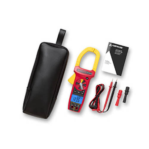 Amprobe ACD-3300 IND 750VAC/1000VDC/1000A TRMS Industrial Clamp Meter with Temperature, CAT IV Rated (With Accessories)
