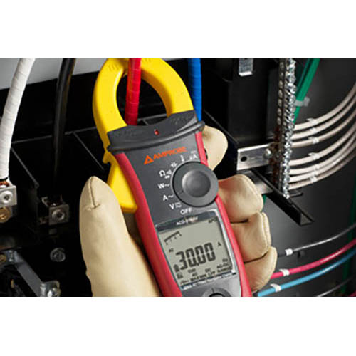 Amprobe ACD-51NAV 1000V/600A TRMS AC Navigator Clamp Meter with Temperature, THD and NCV Detector (In Action)