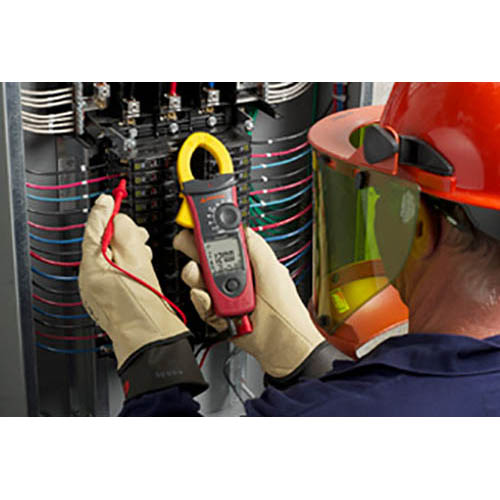 Amprobe ACD-51NAV 1000V/600A TRMS AC Navigator Clamp Meter with Temperature, THD and NCV Detector (In Action 2)