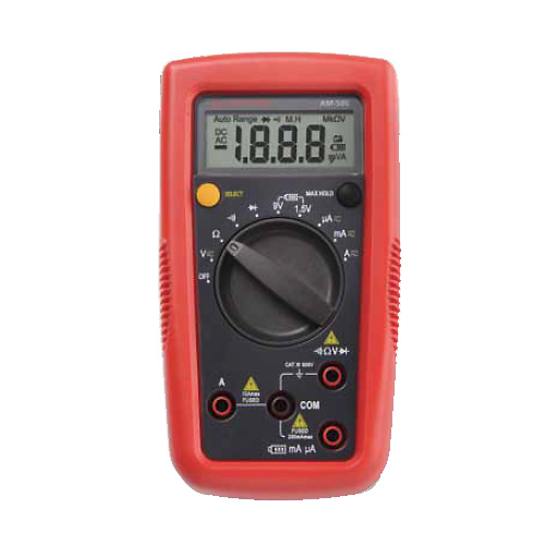 Amprobe AM-500 Do-it-Yourself Pro Digital Multimeter, 600V AC/DC, CAT III Rated & Audible Continuity
